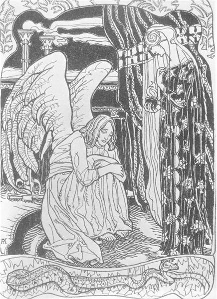 Memory, 1905 - Aladar Korosfoi-Kriesch