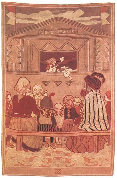 Pupppet Theatre, 1907 - Aladar Korosfoi-Kriesch