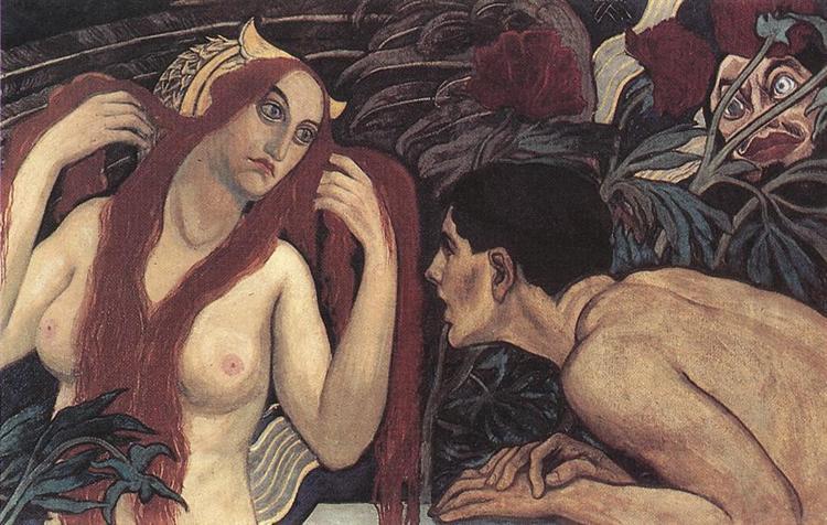 Vaidade, 1904 - Aladar Korosfoi-Kriesch