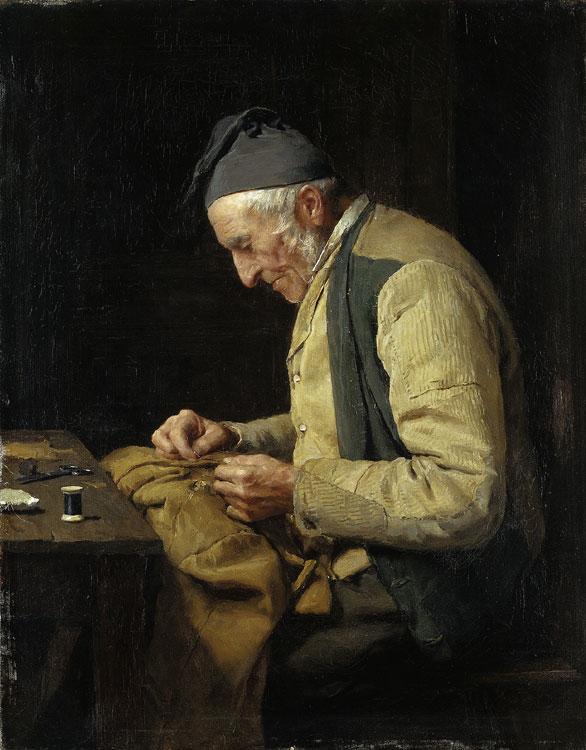 The village tailor, 1894