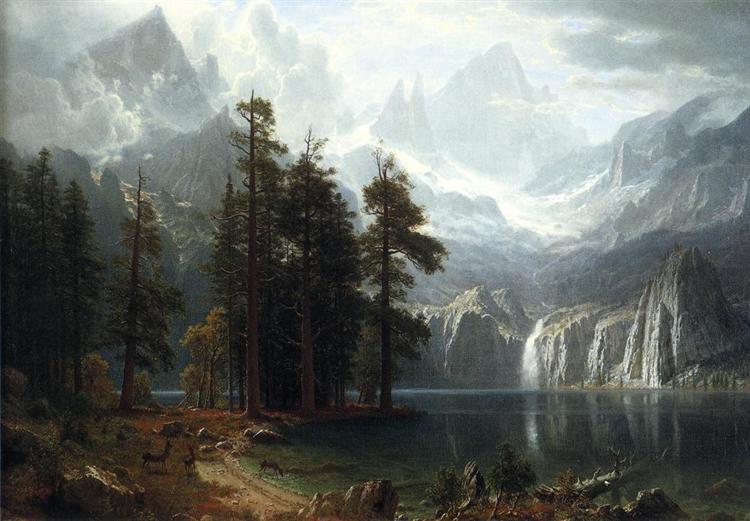 Sierra Nevada, 1871 - 1873 - Albert Bierstadt