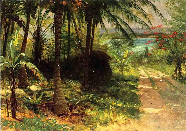 Tropical Landscape - Альберт Бірштадт