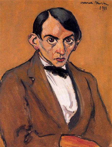 Portrait of a Man, 1911 - Albert Bloch