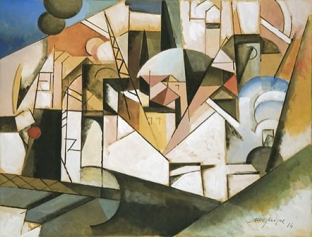Paysage, 1914 - Albert Gleizes
