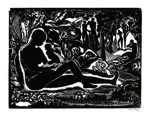 albert huie Markgraf reproductions collection dates: – ca 1958-1970  john richard fox, yves gaucher, lawren harris, ej hughes, albert huie, jacques hurtubise, ay.