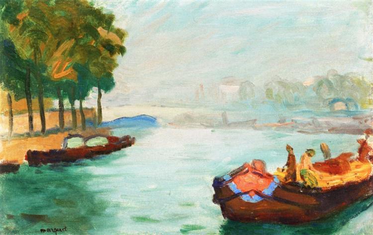 Banks of the Seine, Paris, 1896 - Albert Marquet