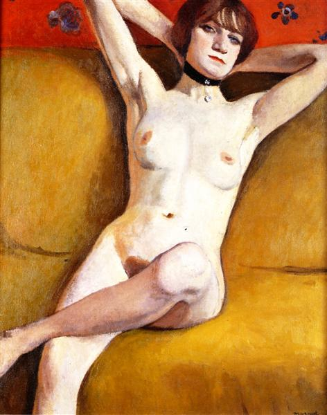 Nude on a Divan, 1912 - Albert Marquet