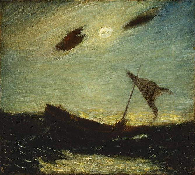Moonlight, 1887 - Albert Pinkham Ryder