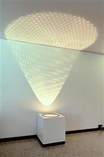 Proiezione di luce e ombre - Alberto Biasi