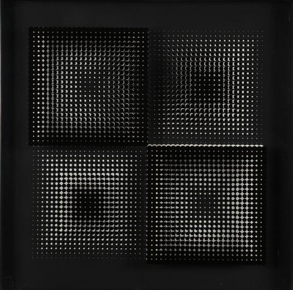 Untitled, 1972 - Alberto Biasi