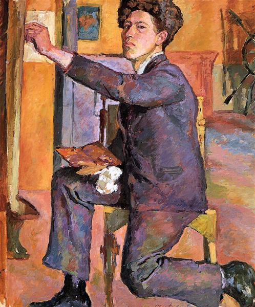 Self-Portrait - Alberto Giacometti