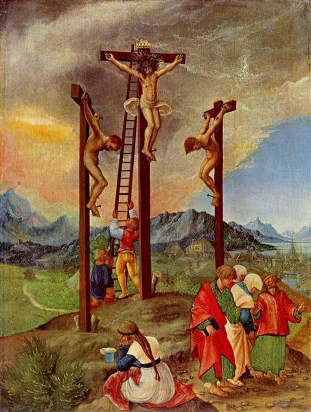 Crucifixion, 1526 - Albrecht Altdorfer