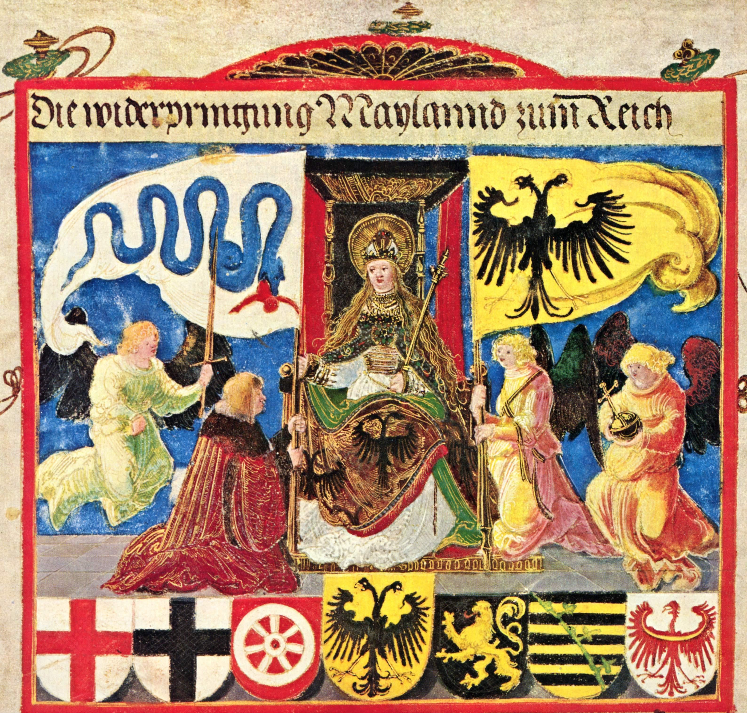 Emperor Maximiliantriumphal, 1513-1515