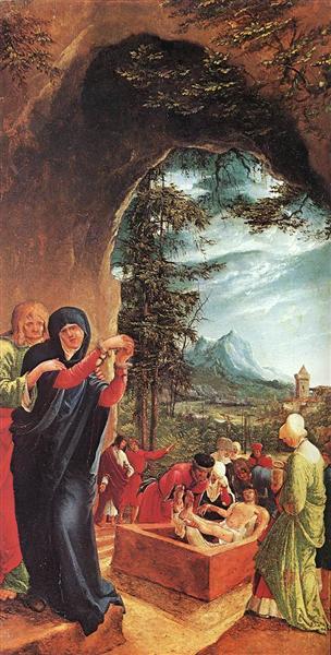 Entombment of Christ, 1518 - Albrecht Altdorfer