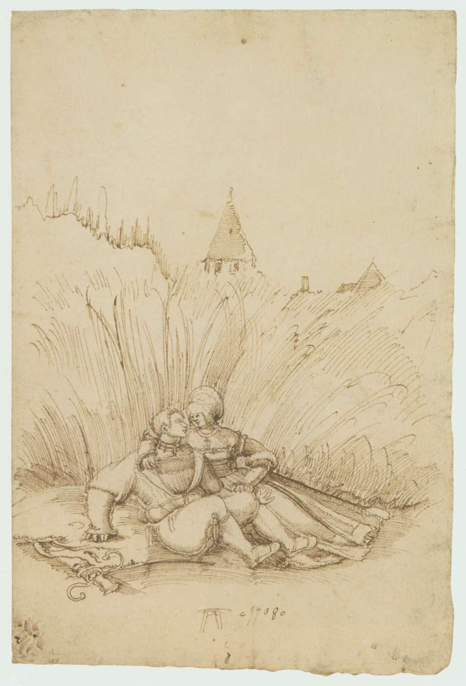 Lovers in a Hay Field, 1508