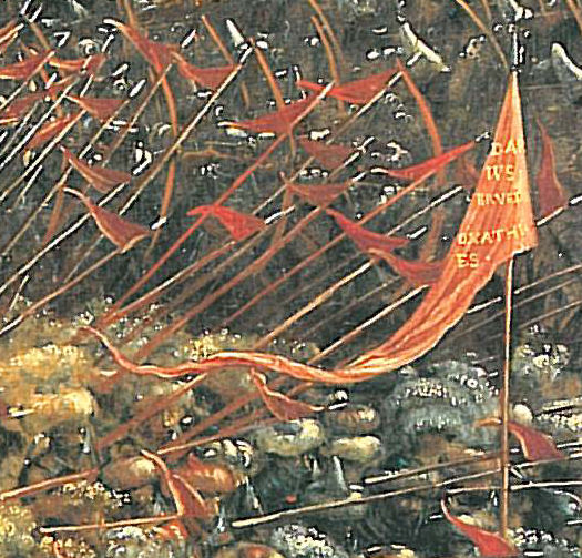 The battle of Issus(fragment), 1529