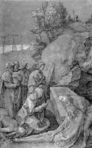 Lamentation - Albrecht Durer