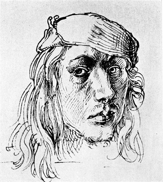 Self-Portrait, 1493 - Albrecht Durer