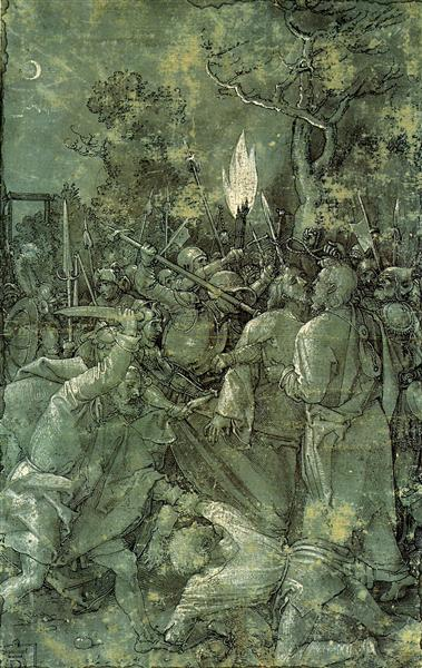 The Arrest of Christ, 1504 - Albrecht Durer