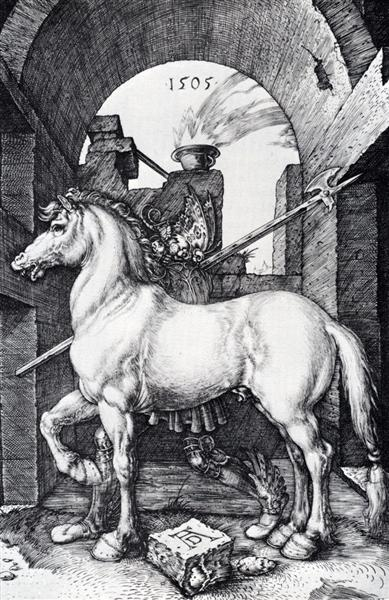The Small Horse, 1505 - Albrecht Durer
