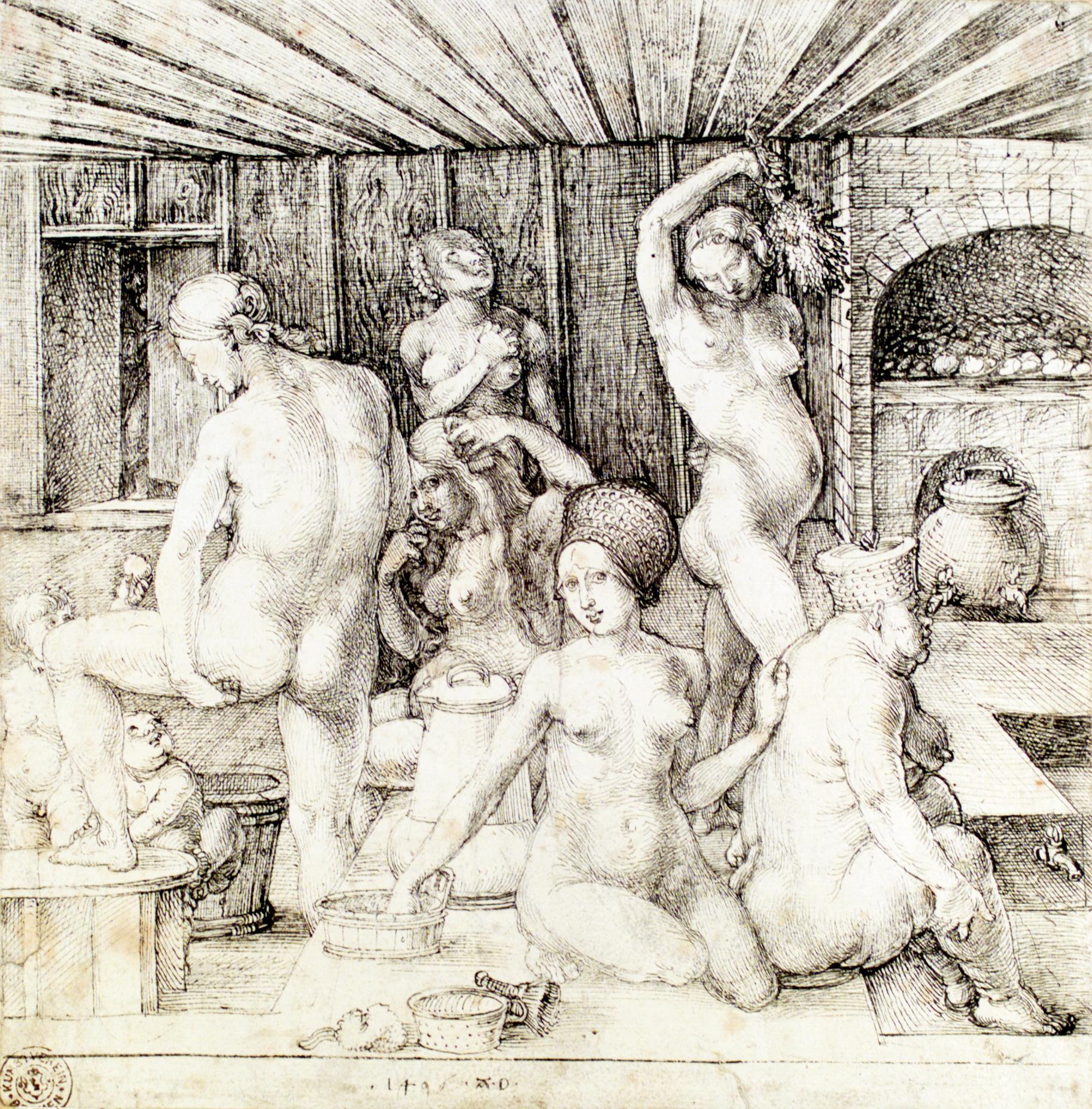 Фото в женских банях 5 фотография