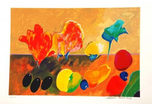 Flores e Frutas, 2003 - Aldemir Martins
