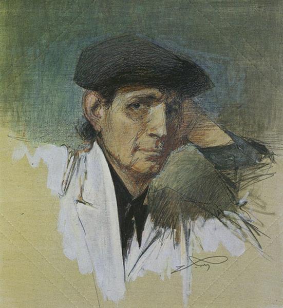 Self Portrait - Alekos Kontopoulos