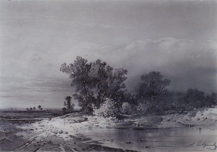 Clearance, c.1850 - Aleksey Savrasov