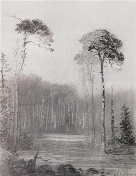 Landscape - Aleksey Savrasov