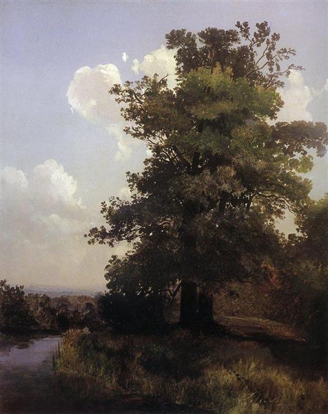 Oaks, 1855 - Alekséi Savrásov