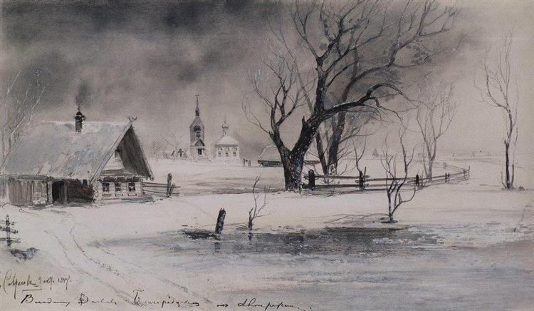 Thaw, 1887 - Aleksey Savrasov