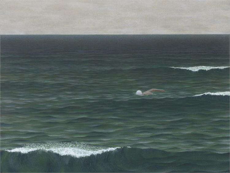 Swimmer, 1962 - Alex Colville