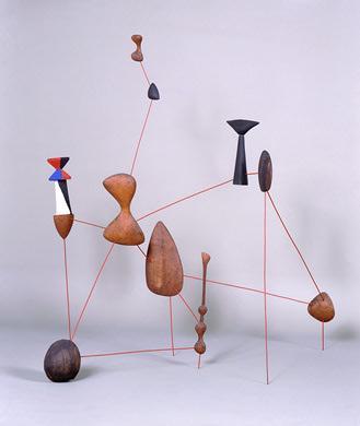 Vertical Constellation with Bomb, 1943 - Alexander Calder