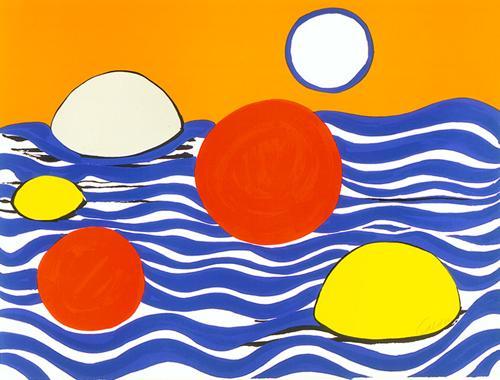 Waves, 1973 - Alexander Calder