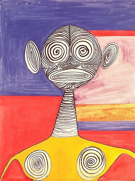 Yellow Tights, 1945 - Alexander Calder