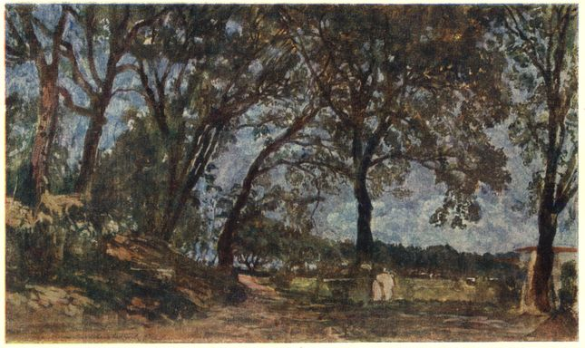 Landscape in Albano