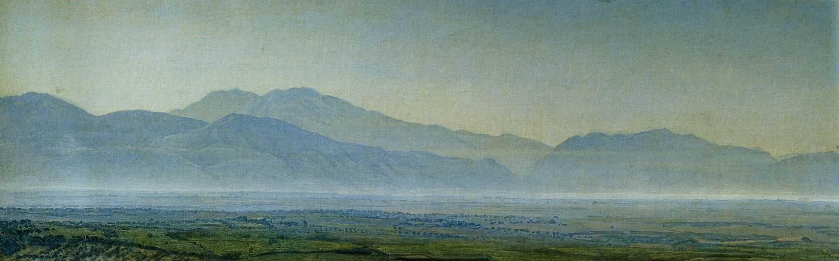 Pontian swamps, 1838