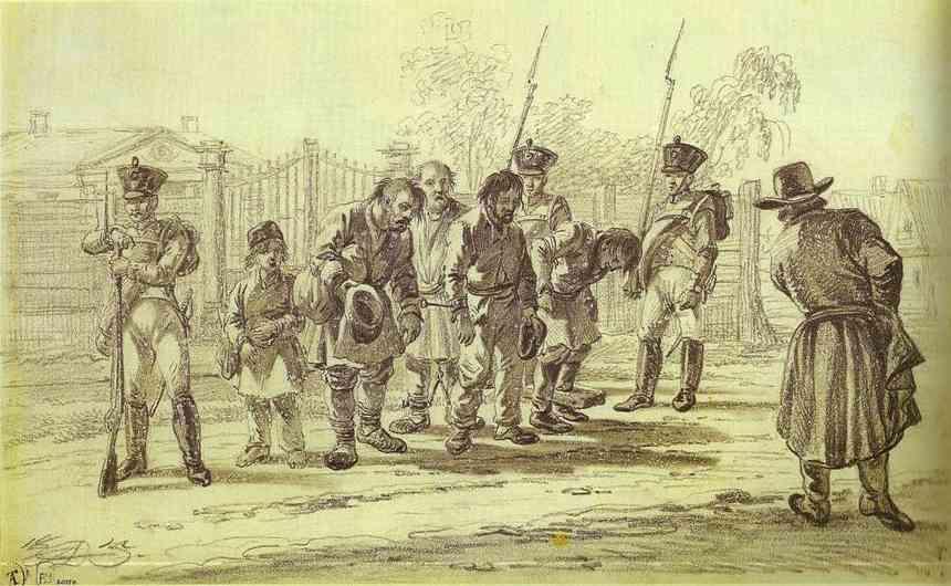 Convicts under Escort, 1815