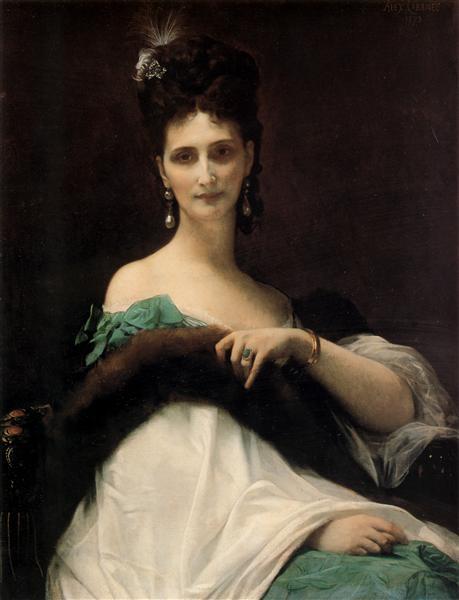 La Comtesse de Keller, 1873 - Alexandre Cabanel