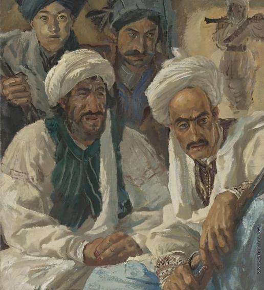 Afghans - Alexandre Jacovleff