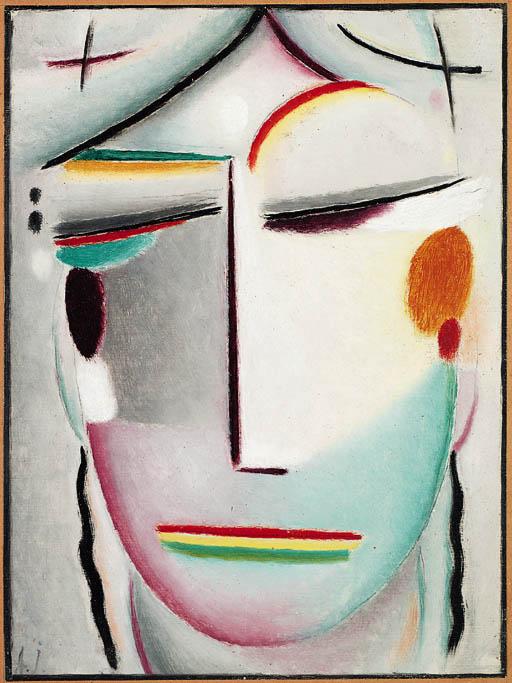 Saviour's Face: Distant King - Buddha II, c.1921 - Alexej ...