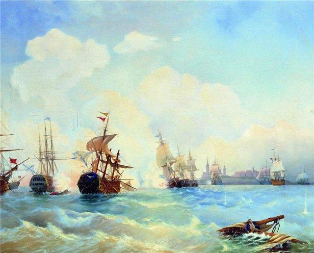 Revel fight May 2, 1790 - Alexey  Bogolyubov