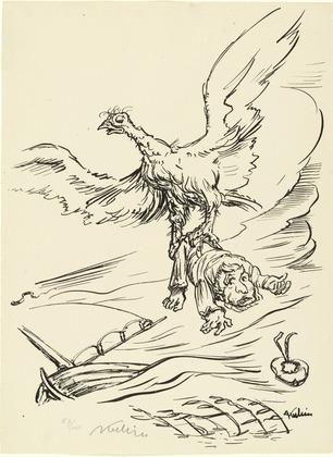 Abduction, 1921 - Alfred Kubin