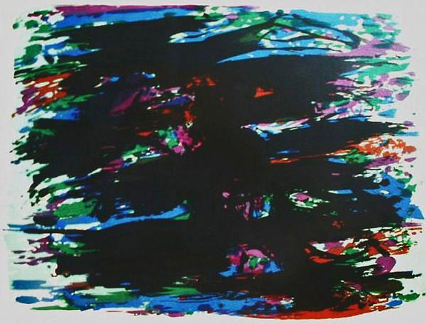 Les Jardin des oliviers, 1978 - Alfred Manessier