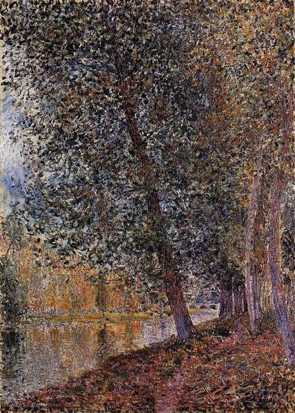 Banks of the Loing, Autumn, 1880 - Alfred Sisley