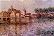 Moret sur Loing - Alfred Sisley