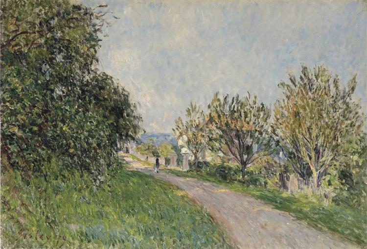 Path near Sevres, 1879 - Alfred Sisley