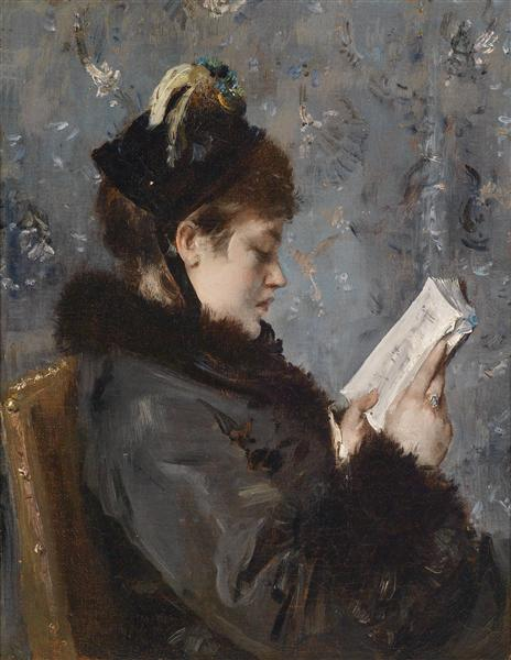 Portrait of a young lady, 1906 - Alfred Stevens