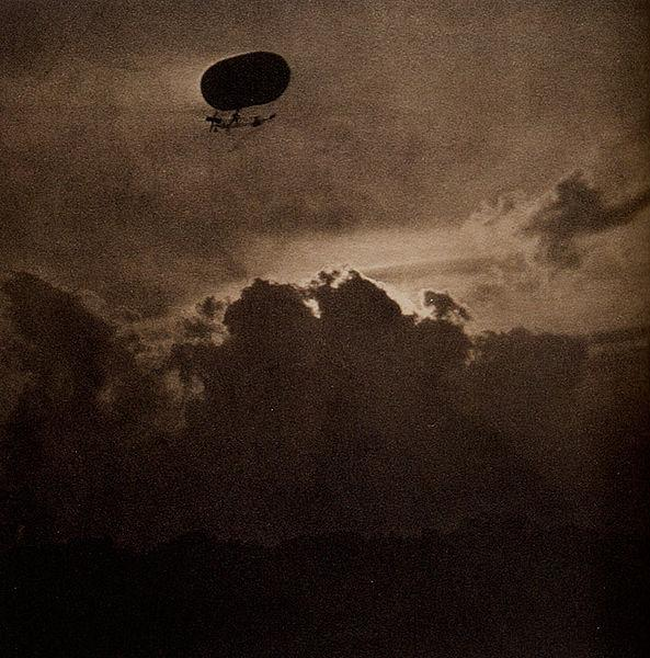 The Dirigible, 1910 - Alfred Stieglitz