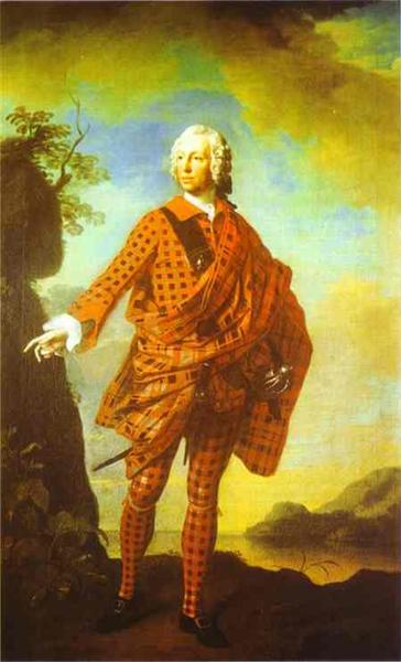 Norman The Red Man, 22nd Chief of MacLeod, 1747 - Allan Ramsay
